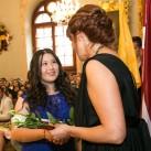 Anna JuaņJuaņa Li, sveicam ar iegūtajiem mācību sasniegumiem un novēlam, lai izdodas īstenot savu sapni kļūt par ārstu.